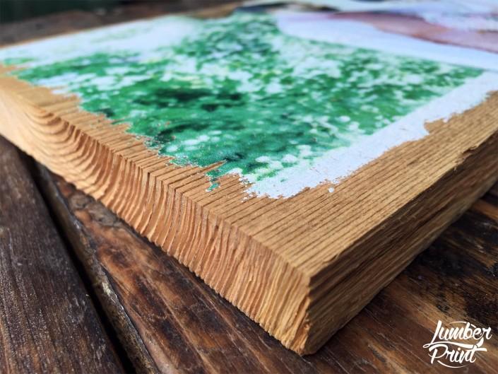LumberPrint Foto auf Holz Fotodruck Paar