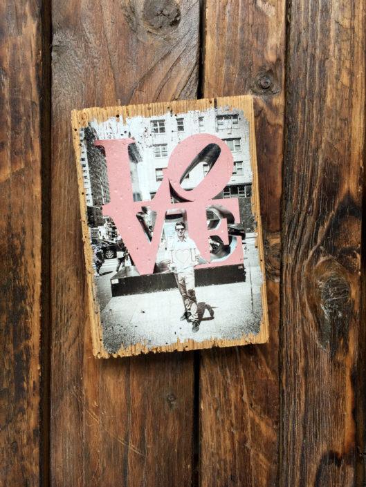 Foto auf Holz LumberPrint - Fotogeschenk