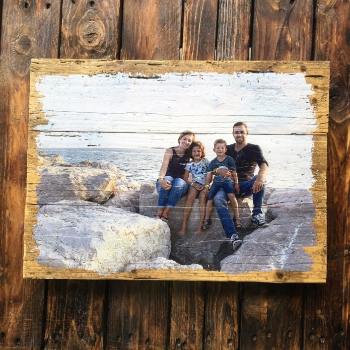 Foto auf Holz LumberPrint - Holzdruck