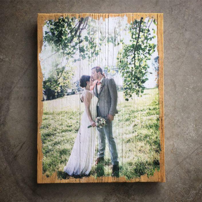 Foto auf Holz LumberPrint - Wandbild