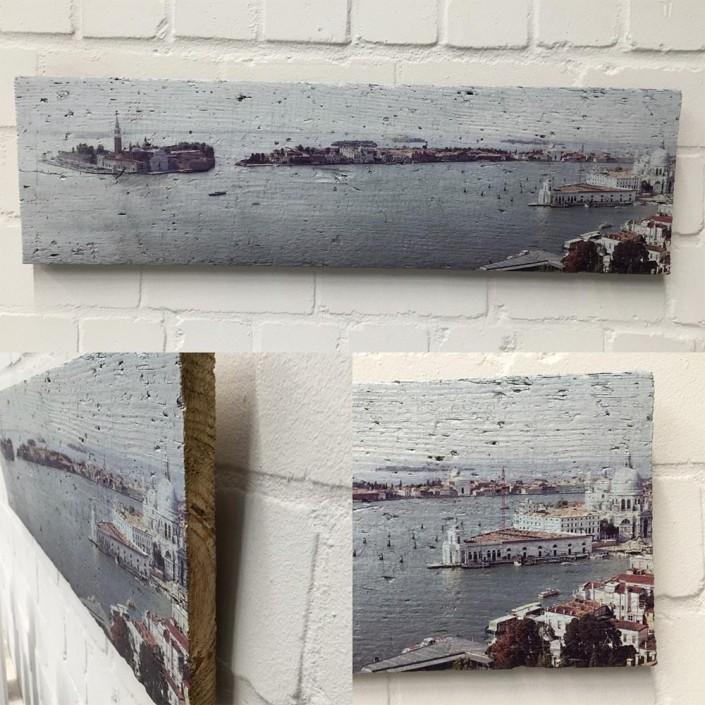 Holzdruck foto auf Holz Lumberprint