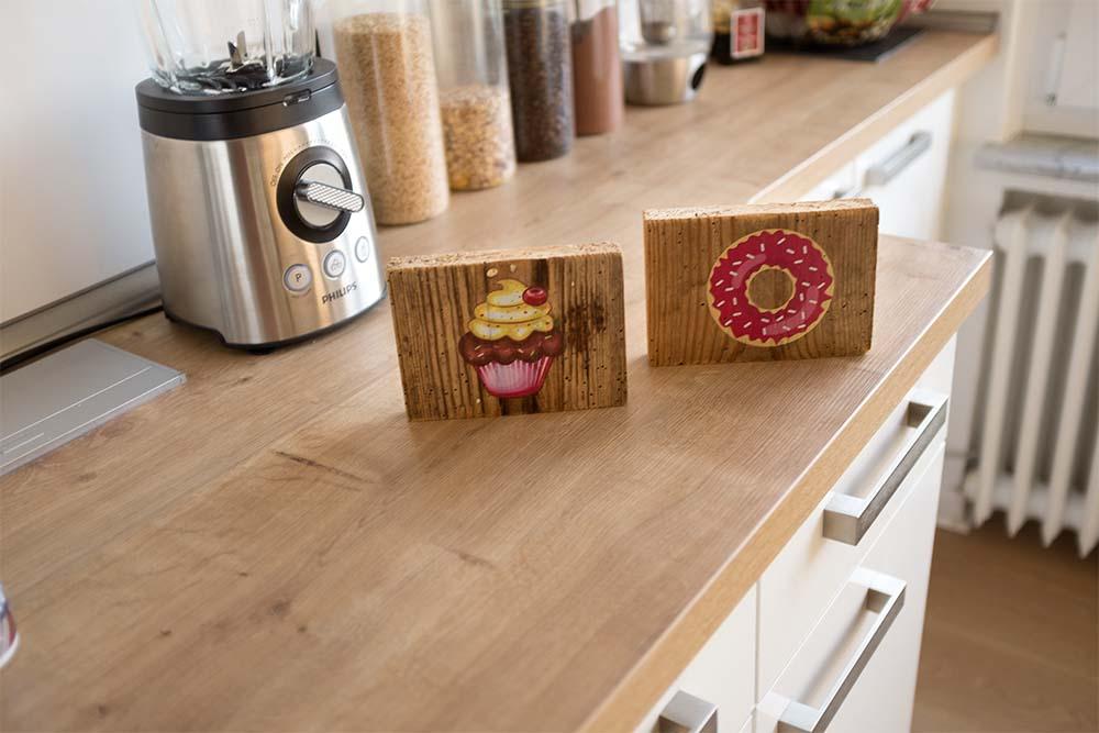 Holzdruck foto auf Holz