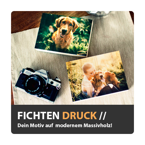 Dein Foto auf Holz Holzdruck Fotodruck Holzbilder