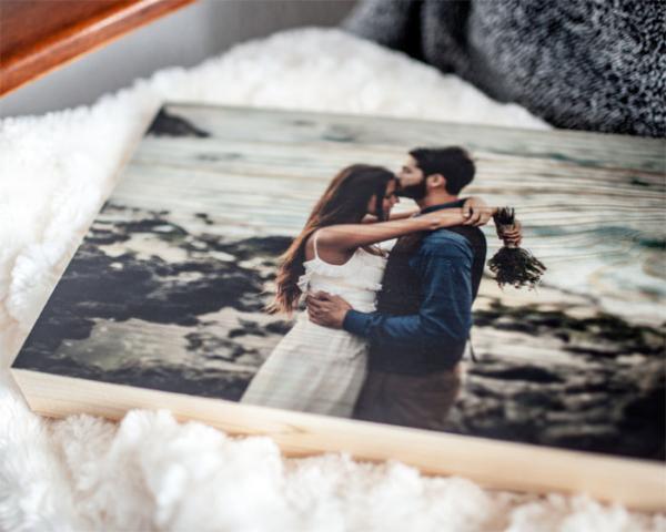 Holzdruck LumberPrint Foto auf Holz