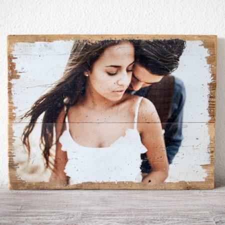 LumberPrint Foto auf Holz Fotodruck