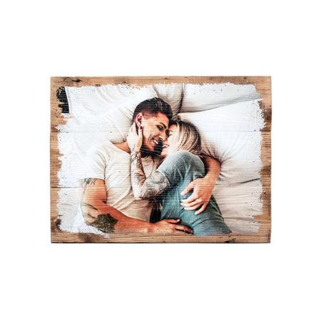 Dein Foto auf Holz - Unikate auf Holz - Vintage Holzdruck - Individueller Fotodruck - Vintageholz - Fichtenholz - Holzdruck - Geschenkgutschein