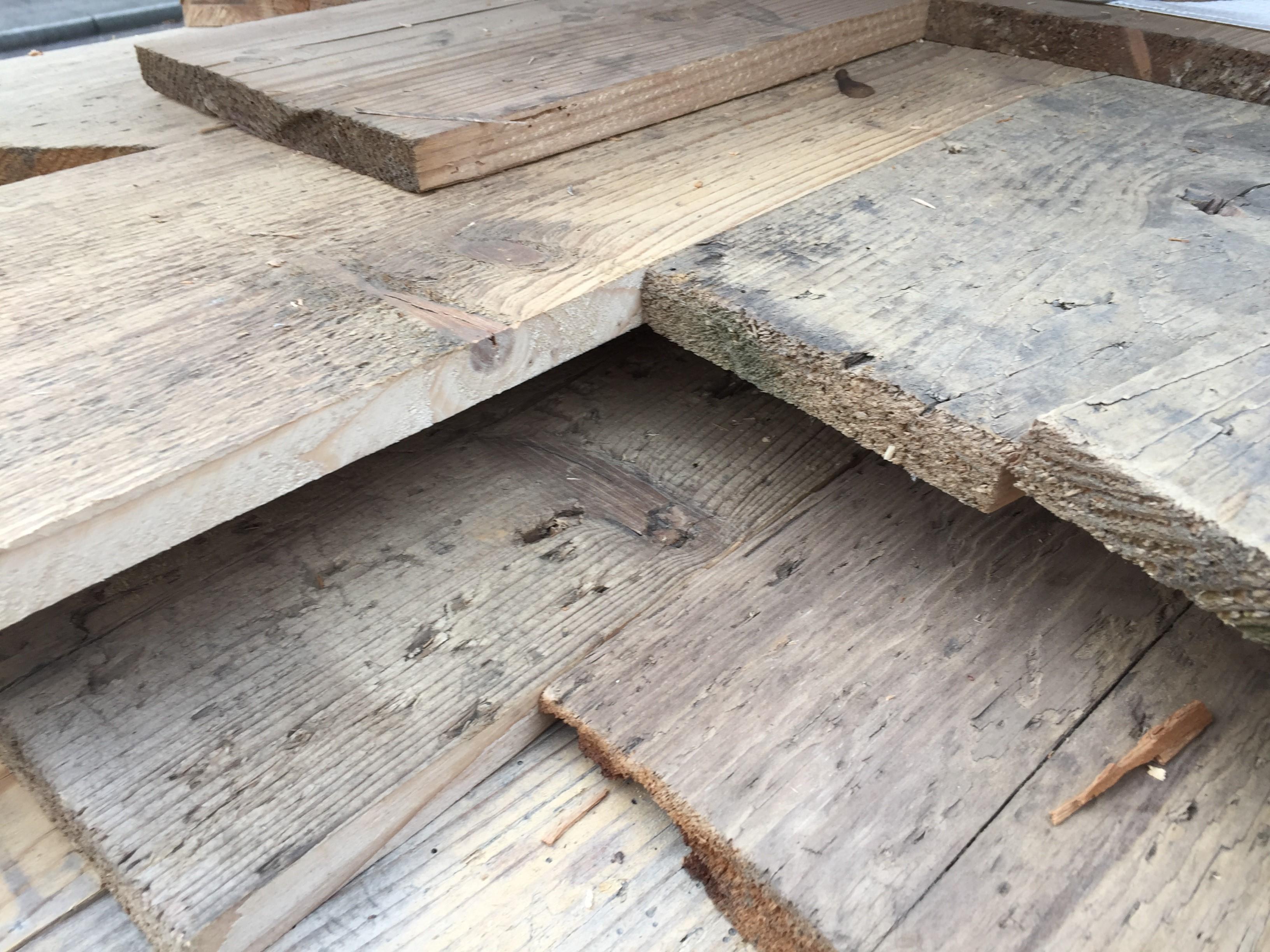 Fußboden Aus Holzdielen ~ Fußboden eines brauereilagers lumberprint foto auf holz