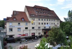 Raiffeisengebäude in Ravensburg, Foto Andreas Praefcke