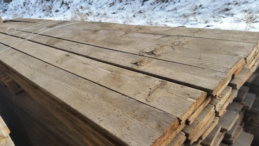 Holzdielen aus der Hopfenscheune in Zatec