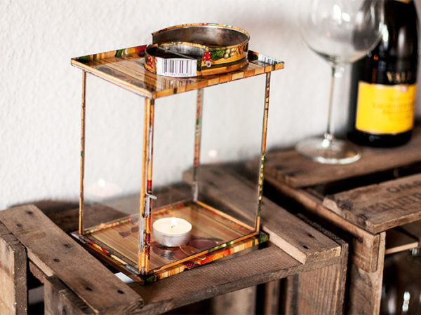 Upcycling Laterne