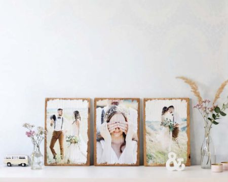 LumberPrint Vintage - Foto auf Holz - Holzdruck - Vintageholz - Vintage - Fotogeschenk - Geschenk - Wandbild - Holzbild